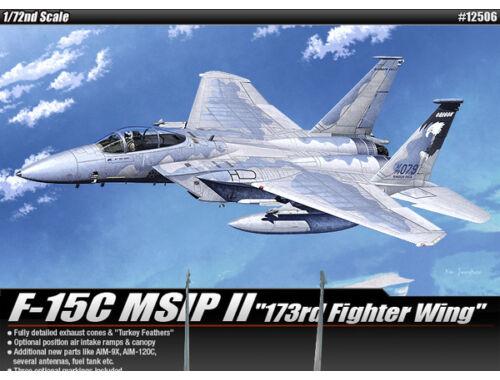 Academy F-15C MSIP II 173rd Fighter Wing 1:72 (12506)