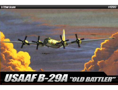 "Academy USAAF B-29A ""Old Battler"" 1:72 (12517)"