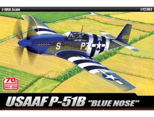 Academy USAAF P-51B Blue nose 1:48 (12303)