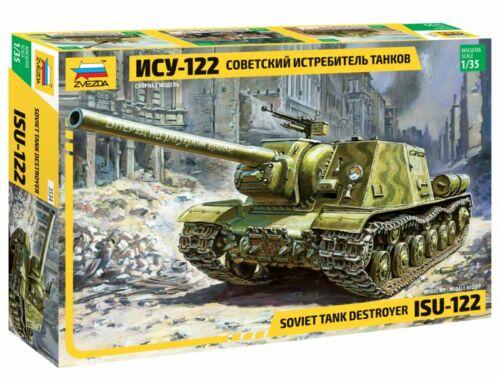 Zvezda Military ISU-122 (RR) 1:35 (3534)