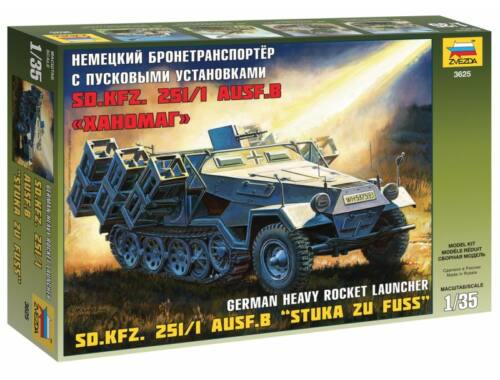 Zvezda Sd.Kfz.251/1 Ausf.B 'Stuka Zu Fuss' 1:35 (3625)