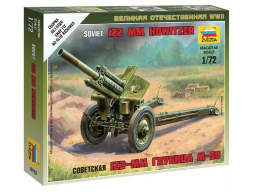 Zvezda Soviet M-30 Howitzer 1:72 (6122)