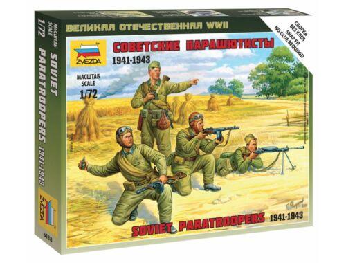 Zvezda Soviet Paratroops 1:72 (6138)