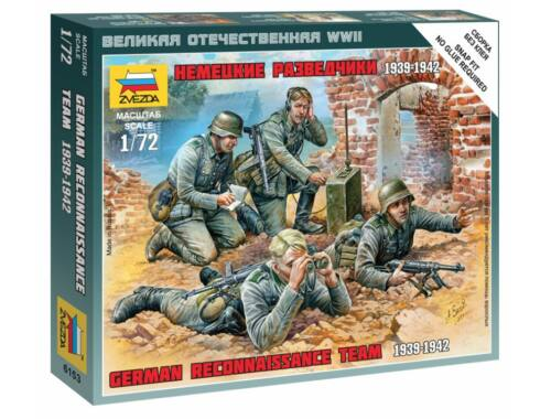 Zvezda German Reconnaissance Team 1:72 (6153)