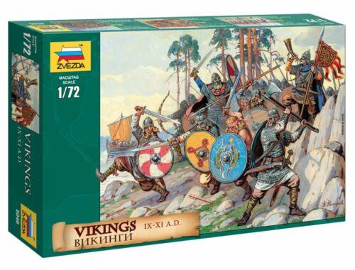 Zvezda Vikings (i.u. 900-1100) 1:72 (8046)
