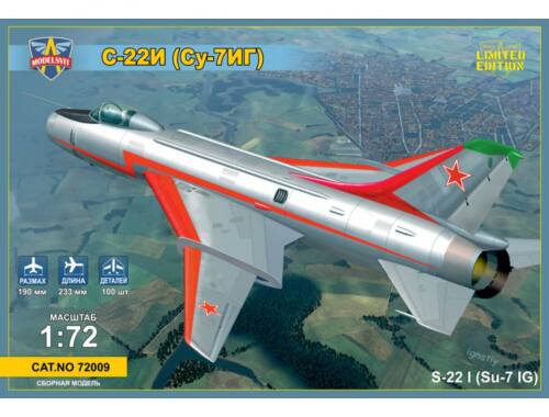 Modelsvit Sukhoi Su-22I (Su-7IG) Su-7BM with wings 1:72 (72009)