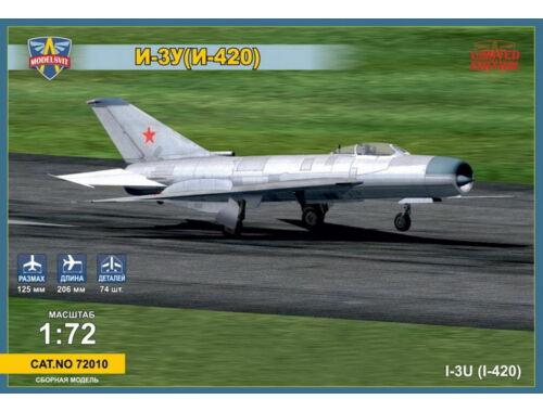 Modelsvit Mikoyan I-3U(I-420) Soviet interceptor 1:72 (72010)