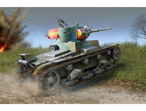 Hobby Boss Soviet T-26 Light Infantry Tank Mod.1936 1:35 (83810)