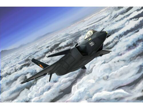 Trumpeter Chinese J-20 Mighty Dragon 1:144 (3923)