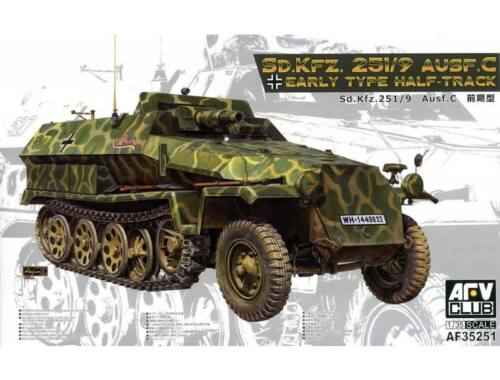 AFV Club Sd.Kfz.251/9/Ausf,C Early Type Half-Trac 1:35 (AF35251)