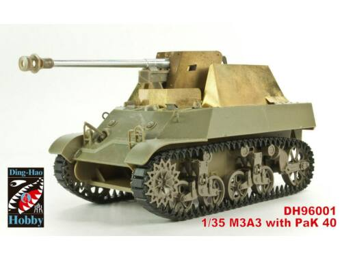 AFV Club M3A3 with Pak 40 (Yugoslav) 1:35 (DH96001)