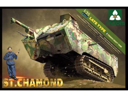 Takom French Heavy Tank St.Chamond Late Type 1:35 (2012)