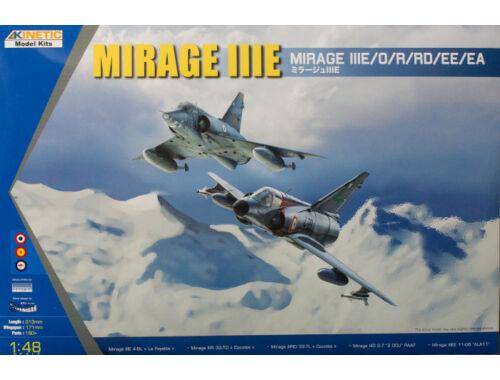 Kinetic MIRAGE IIIE/O/R/RD 1:48 (48050)