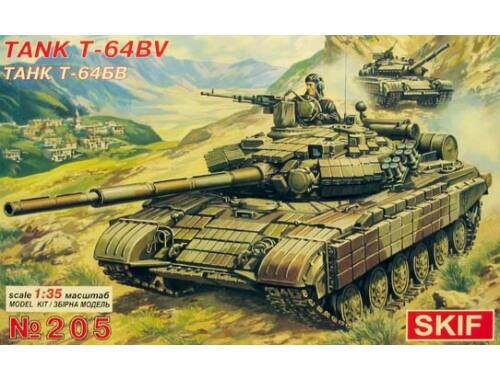 Skif T 64 BV Soviet Main Battle Tank 1:35 (205)