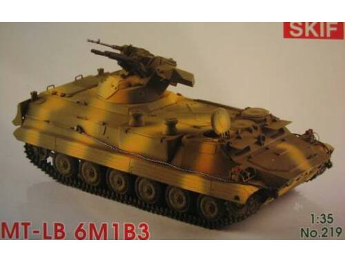 Skif MT-LB 6M1B3 Soviet Armored troop-carrier 1:35 (219)