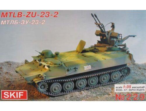 Skif MT-BL with ZU-23-2 1:35 (229)