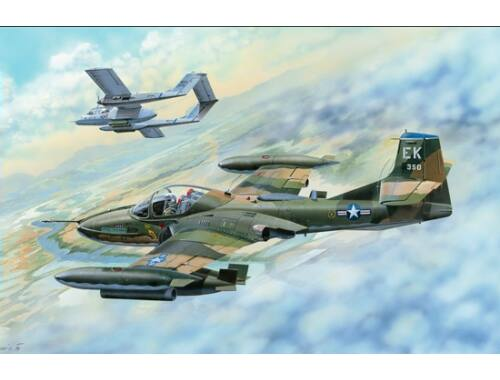 Trumpeter US A-37B Dragonfly Light Ground-Attack 1:48 (02889)
