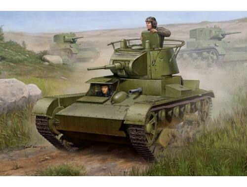 Hobby Boss Soviet T-26 Light Infantry Tank Mod 1938 1:35 (82497)