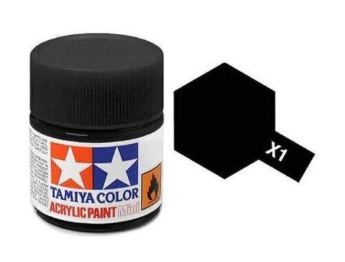 Tamiya AcrMini X-1 Black (81501)