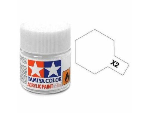 Tamiya AcrMini X-2 White (81502)
