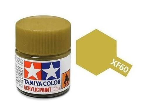 Tamiya AcrMini XF-60 Dark Yellow (81760)