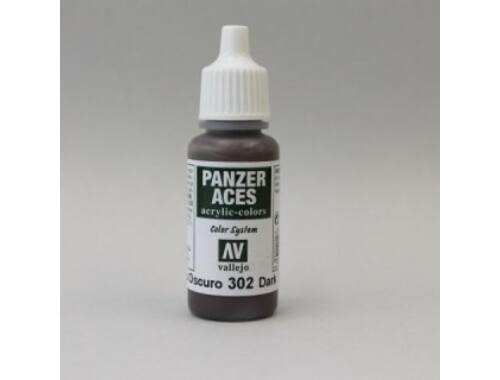 Vallejo Panzer Aces Dark rust 70302 (70302)