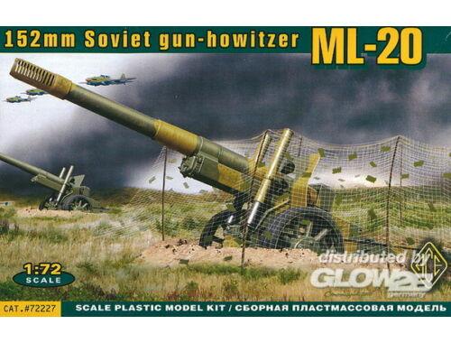 ACE ML-20 Soviet WW2 152mm gun-howitzer 1:72 (ACE72227)