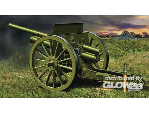 ACE 76.2mm 3 inch Soviet gun 1902/1930 with limber 1:72 (72252)