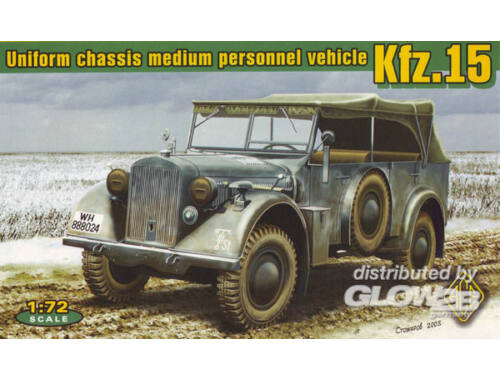 ACE Kfz.15 uniform chassis medium vehicle 1:72 (72258)