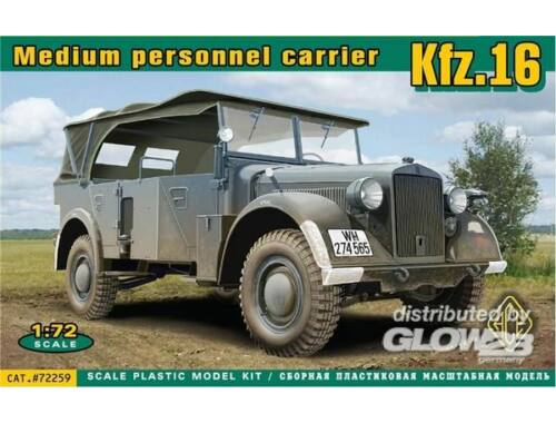 ACE Kfz.16 medium personnel carrier 1:72 (ACE72259)