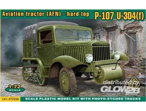 ACE P-107 U-304f Aviation tractor AFN 1:72 (72266)