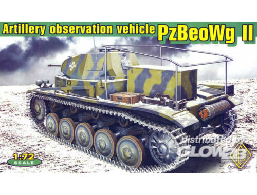 ACE Artillery observation vehicle 1:72 (ACE72270)