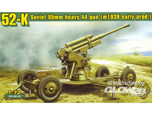 ACE 52-K 85mm Soviet Heavy AA Gun early version 1:72 (72276)