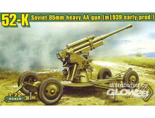 ACE 52-K 85mm Soviet Heavy AA Gun early version 1:72 (72276)