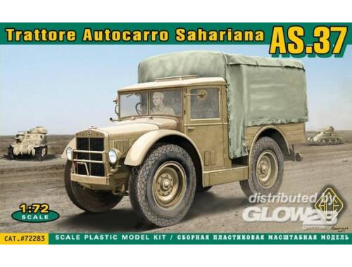 ACE Trattore Autocarro Sahariano AS.37 1:72 (ACE72283)