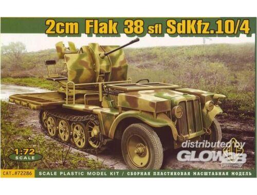 ACE 2cm Flak 38 sfl SdKfz.10:4 1:72 (72286)
