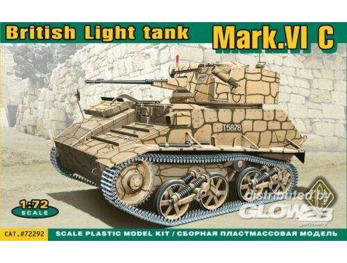 ACE Mark.VI C British light tank 1:72 (72292)