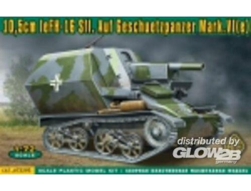 ACE 10,5cm leFH-16 Sfl.Auf Geschuetzpanzer M 1:72 (72293)