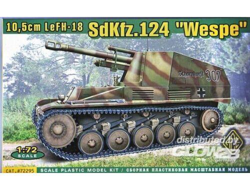 ACE SdKfz. 124 Wespe 1:72 (72295)