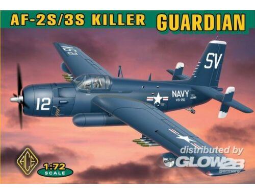 ACE Grumman AF-2S:3S Killer Guardian 1:72 (72305)