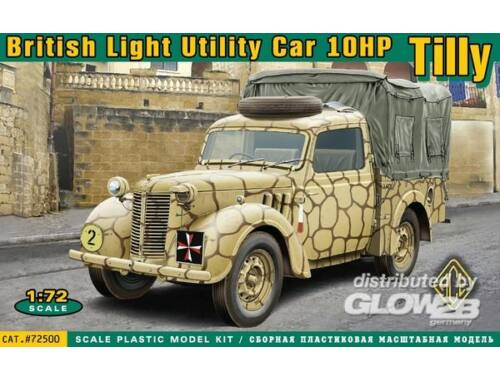 ACE British light utility car 10hp Tilly 1:72 (72500)