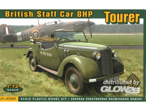 ACE British Staf car 8hp Tourer 1:72 (72501)