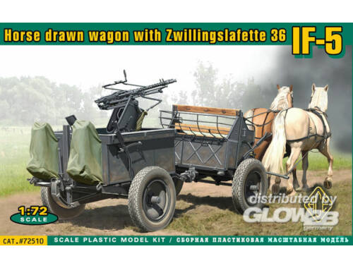 ACE IF-5 horse drawn wagon Type 36 1:72 (72510)