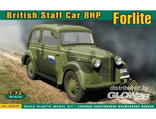 ACE Forlite British staff car 8HP 1:72 (72513)