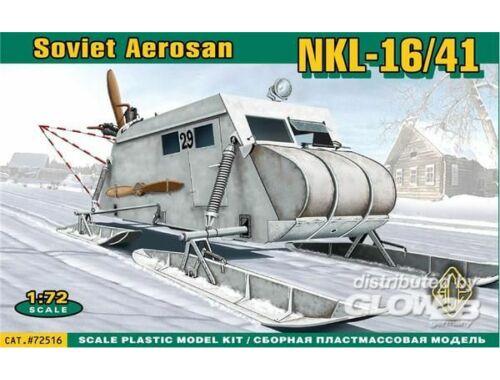 ACE Soviet armored aerosan NKL-16:41 1:72 (72516)