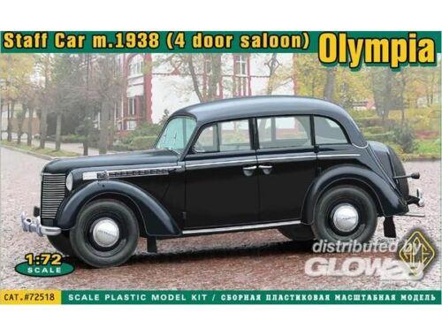 ACE Olympia 4 door saloon staff car, 1938 1:72 (72518)