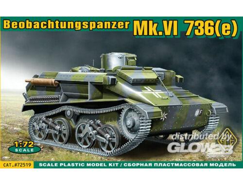 ACE Mk.VI 736e Beobachtungspanzer 1:72 (72519)
