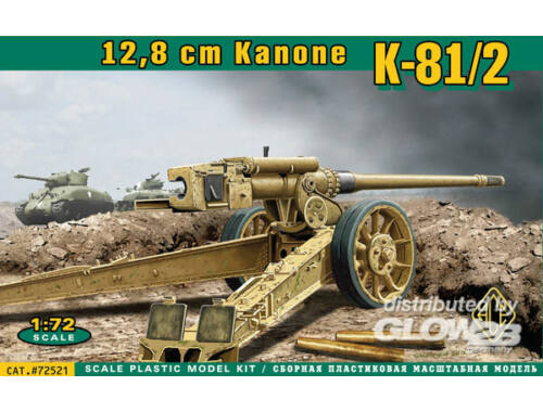 ACE K-81/2 12,8 cm Kanone 1:72 (72521)
