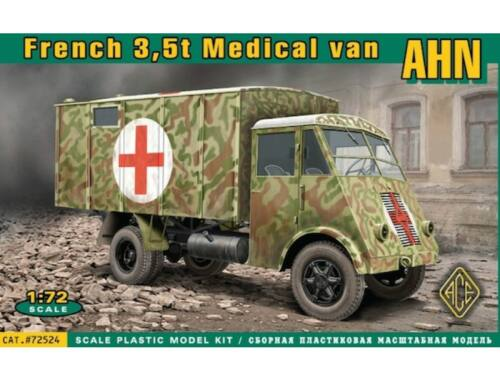 ACE AHN French 3,5t Medical van 1:72 (72524)