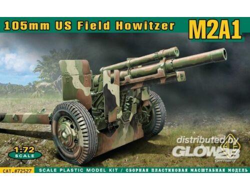 ACE M2A1 105mm U.S. field howitzer 1:72 (72527)